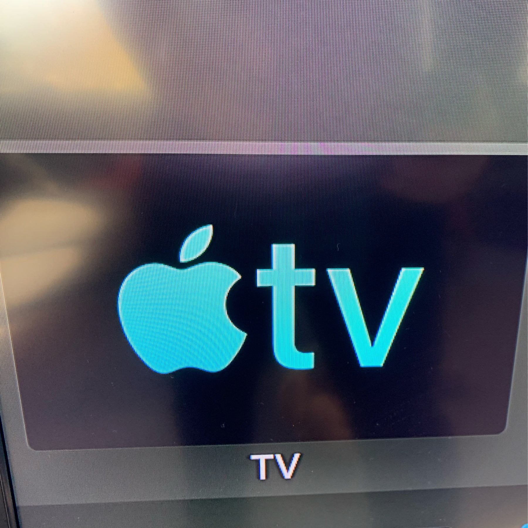 A photo of the Apple TV app on the Apple TV, on my TV. TV!