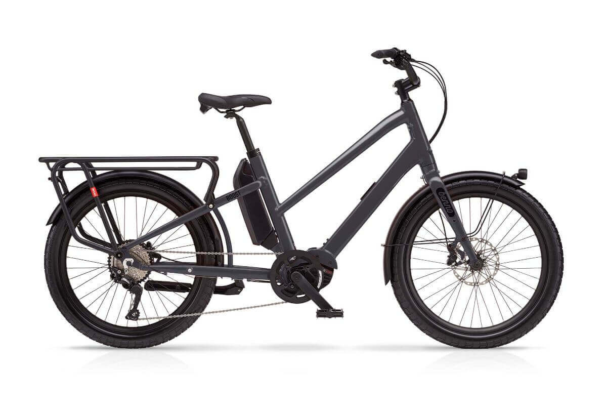 A Benno Boost step-through eBike